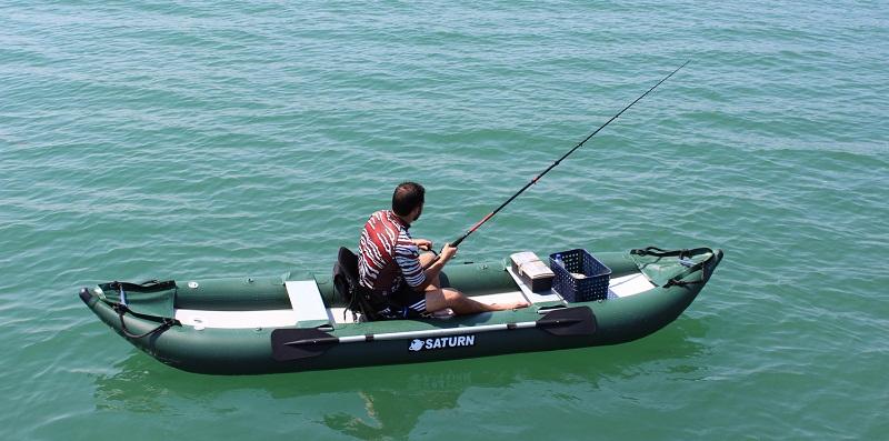 Beginner Kayak Fisherman