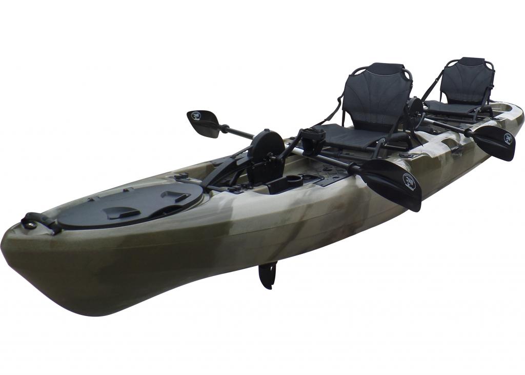 BKC PK14 Tandem Fishing Kayak